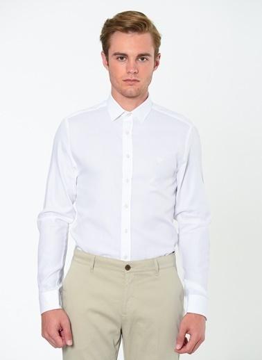 Beymen Business Klasik Uzun Kollu Gömlek Beyaz